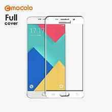 Захисне скло Mocolo Full сover для Samsung Galaxy A3 A310 2016 білий