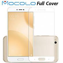 Защитное стекло Mocolo Full сover для Xiaomi Mi 5C белый