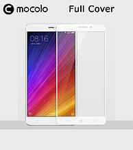 Защитное стекло Mocolo Full сover для Xiaomi Mi 5s Plus White