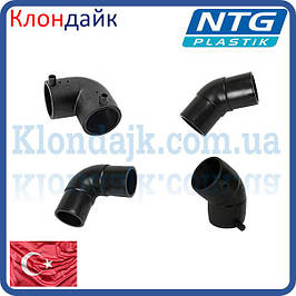Колено для терморезисторной и стыковой сварки NTG (Турция)
