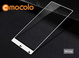 Защитное стекло Mocolo Full сover для Xiaomi Mi Mix белый