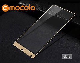 Защитное стекло Mocolo Full сover для Xiaomi Mi Mix золотистый
