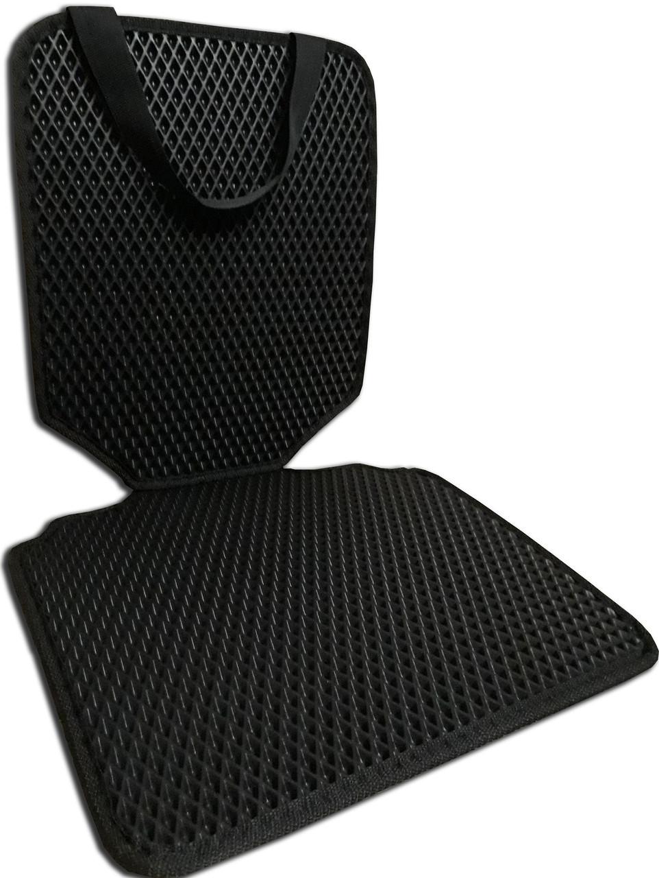 Защитный коврик под детское автокресло. Цвет черный. Детские автокресла, аксессуары