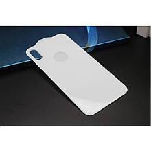 Защитное стекло Mocolo 3D на заднюю крышку для Apple iPhone X Xs White