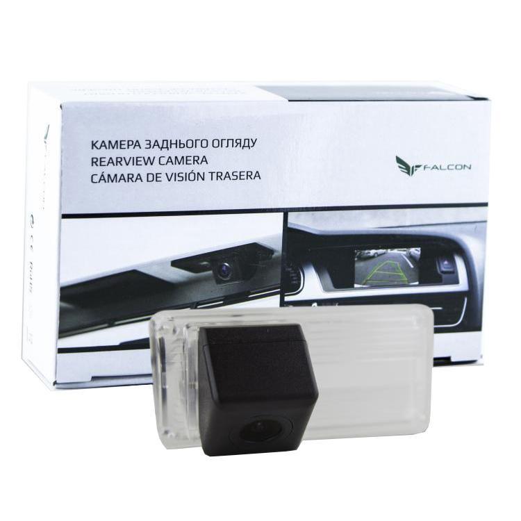 Штатная камера заднего вида Falcon SC17-SCCD. Toyota Land Cruiser 100 1998-2007/Land Cruiser 200 2007+/Prado
