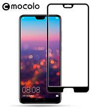 Защитное стекло Mocolo 3D для Huawei P20 Pro черный