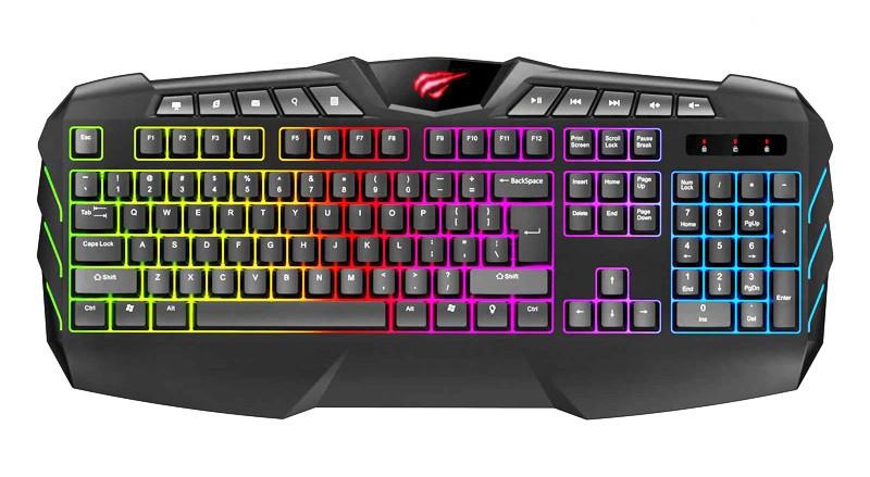 Клавиатура игровая Havit HV-KB465L black
