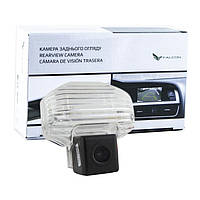 Штатная камера заднего вида Falcon SC18-SCCD. Toyota Corolla 2007-2013