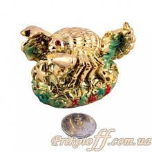 """Статуетка """"Золотий скорпіон"""", кераміка"""