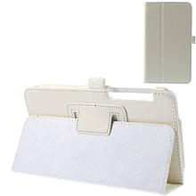 Чехол книжка кожаный Crazy Horse Grain для Asus Fonepad 7 FE375CXG белый