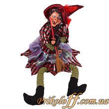 """Статуетка """"Баба Яга"""", співає і танцює 55 см"""