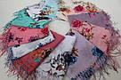 """Хлопкові шарфи """"Стелла"""" 146-4, фото 5"""
