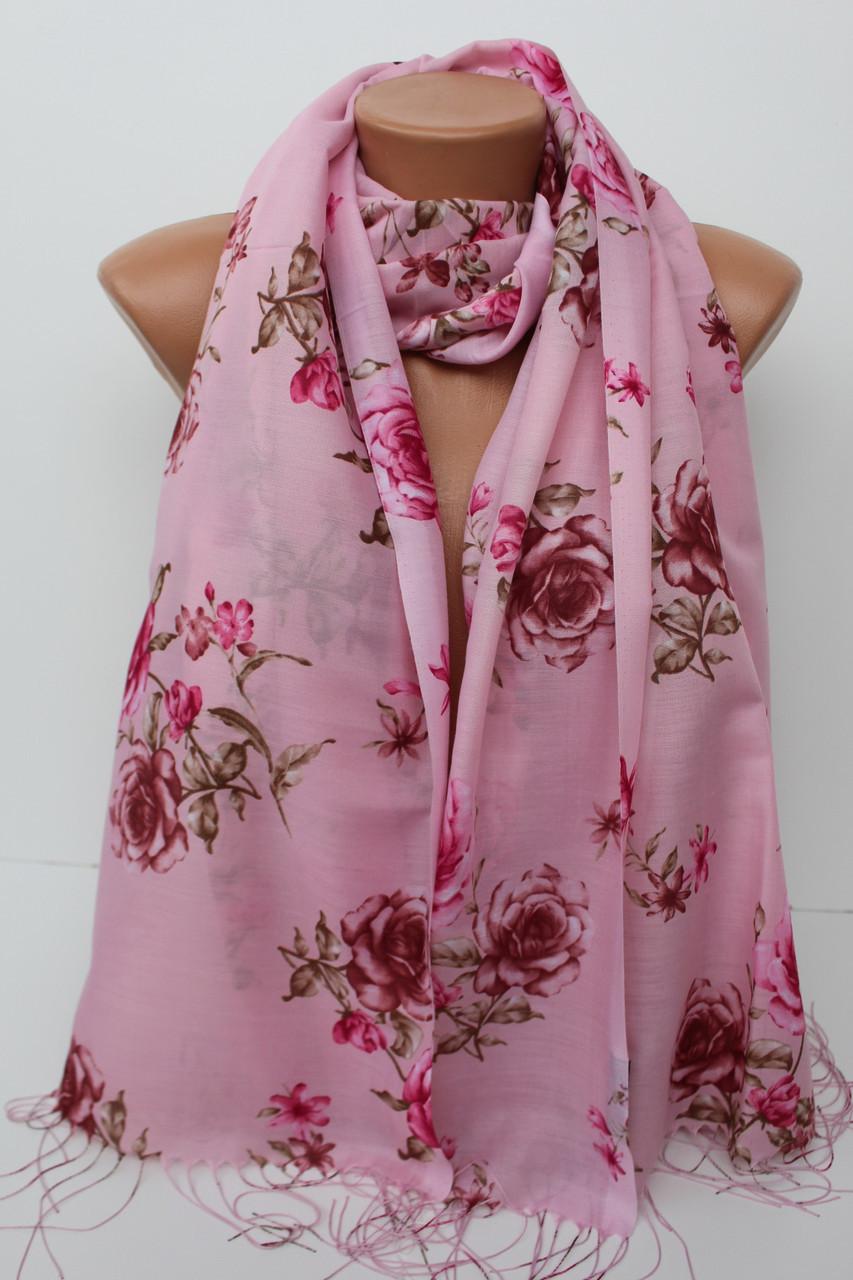 """Хлопкові шарфи """"Стелла"""" 146-10"""