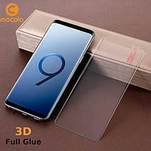 Защитное стекло Mocolo 3D Full Glue для Samsung Galaxy S9 Plus прозрачный