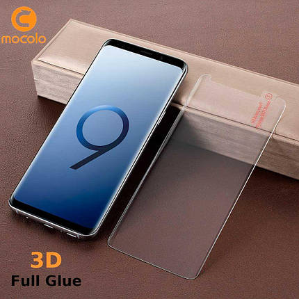Защитное стекло Mocolo 3D Full Glue для Samsung Galaxy S9 Transparent, фото 2
