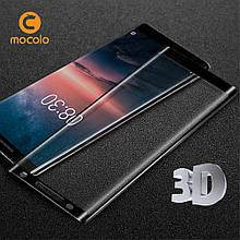 Защитное стекло Mocolo 3D для Nokia 8 Sirocco черный