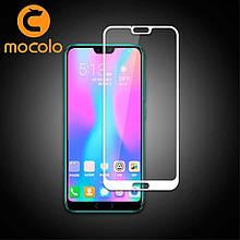 Защитное стекло Mocolo Full сover для Huawei Honor 10 белый