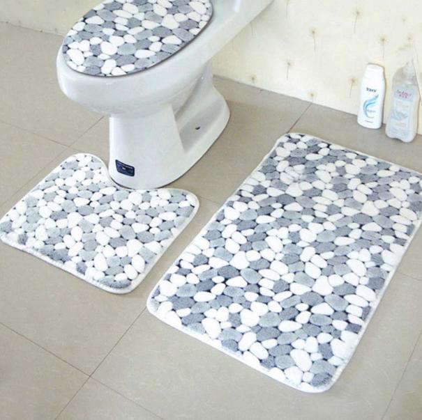 Коврики для ванной и туалета комплект купить элитные ткани для одежды купить