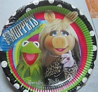 Тарелки праздничные лицензионные 10 шт