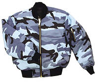 Куртка пилот, skyblue