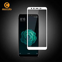 Защитное стекло Mocolo Full сover для Xiaomi Mi A2 Mi 6X белый