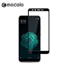 Защитное стекло Mocolo Full сover для Xiaomi Mi A2 6X черный