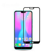 Защитное стекло OP Full cover для Huawei Honor 10 черный