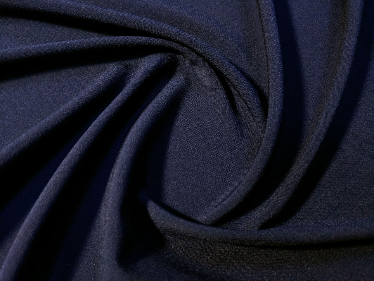 Вискоза софт однотонная, темно-синий