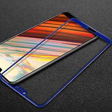 Защитное стекло Mocolo Full сover для Huawei Honor 10 синий