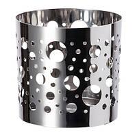 VACKERT  Украшение д/свечи в стеклян стакане, точечный