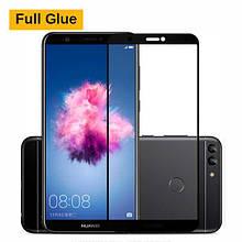 Защитное стекло Optima 3D Full Glue для Huawei P Smart Black