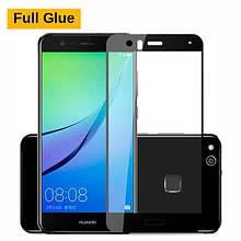 Защитное стекло OP 3D Full Glue для Huawei P10 Lite черный