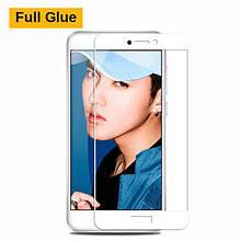 Защитное стекло OP 3D Full Glue для Huawei Y7 Prime белый
