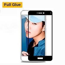 Защитное стекло OP 3D Full Glue для Huawei Y7 Prime черный