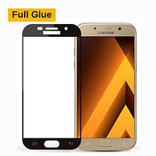 Защитное стекло OP 3D Full Glue для Samsung A320 A3 2017 черный