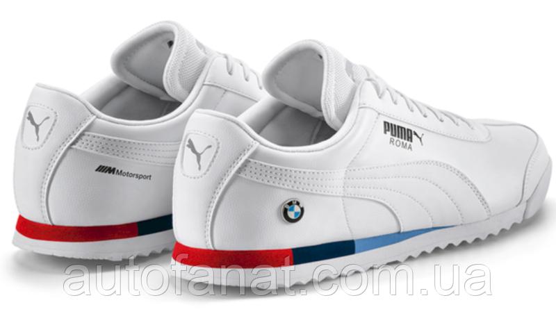 Оригинальные мужские кроссовки BMW M Motorsport Sneakers Puma Roma, White