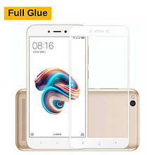 Защитное стекло OP 3D Full Glue для Xiaomi Redmi 5a белый
