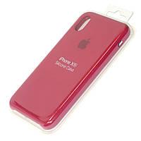 Чехол силиконовый Айфон Apple IPhone XR Original Rose Red