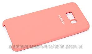 Оригинальный чехол Samsung S8 Plus Galaxy G955 Original Soft Case Pink