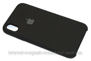 Чехол силиконовый Айфон Apple IPhone XR Original Black