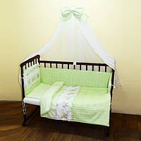 Комплект постели в детскую кроватку