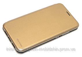 Чехол-книжка Xiaomi Mi8 золотой G-Case Ranger Series
