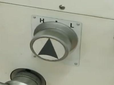 Изменение направления движения шпинделя фрезерного станка FDB Maschinen BF 20 VT