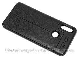 Чехол силиконовый Huawei P Smart 2019 (51093FTA) черный Skin Shield
