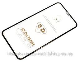 Защитное стекло 5D Айфон Apple Iphone XS Max / 11 Pro Max Black