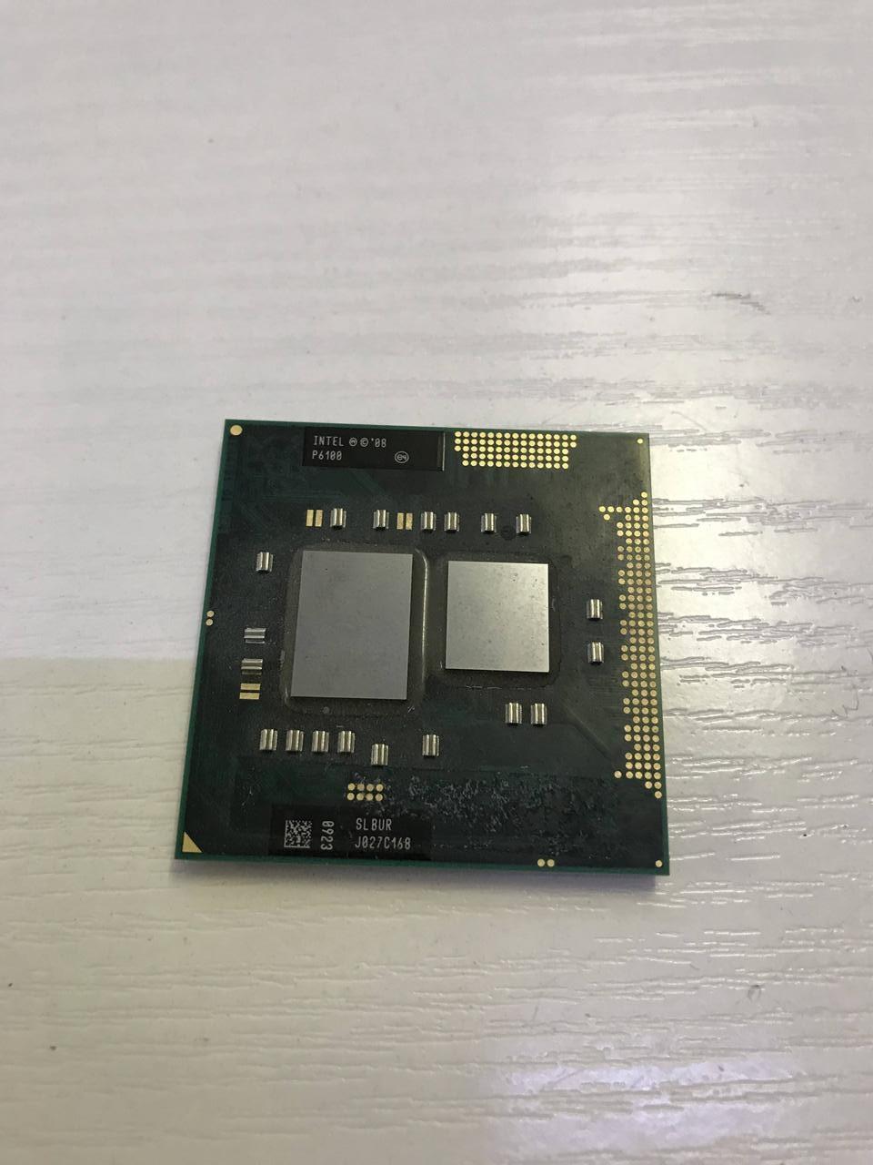 Процессор Intel Pentium P6100 - SLBUR  - рабочий и исправный. Гарантия 1 месяц