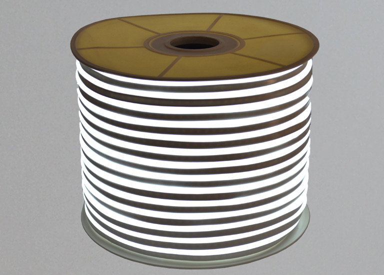 Гибкий неон Lumex SMD 2835 (120 LED/m) IP68 Белый 220V Econom
