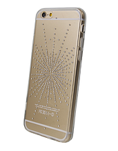 Чехол накладка силиконовый Diamond Younicou для Huawei P20 Silver Shine
