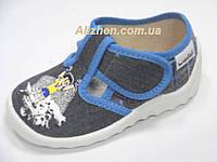 """Текстильные тапочки, туфли, сандали для мальчика тм """"Валди"""" ( Украина), размеры 25."""