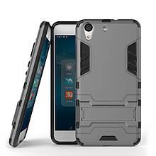 Чехол накладка силиконовый Honor® Defence для Samsung G965 S9 Plus серый